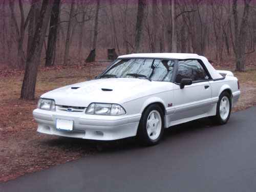 Ed Blount's 1992 Ford Mustang LX Convertible