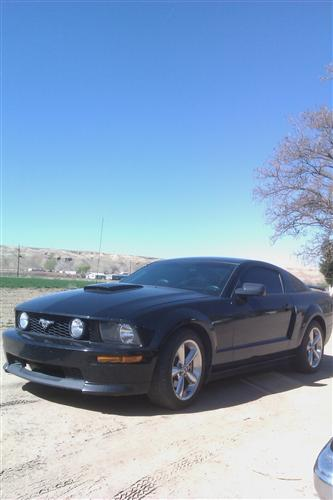 eric baudoin's 2007 ford mustang gt/cs