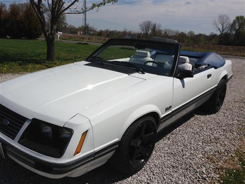 Frankie  Vollano's 1983 Mustang GT Convertible