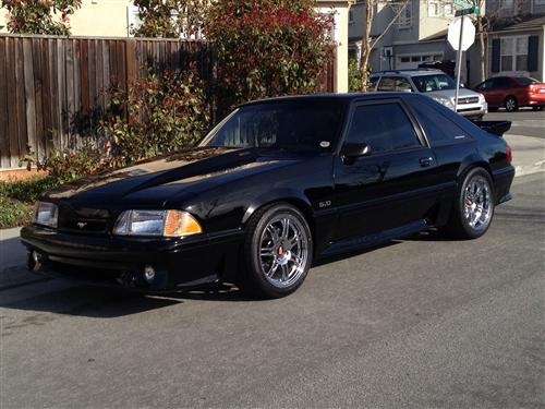 Fred Montejo's 1989 Ford Mustang GT