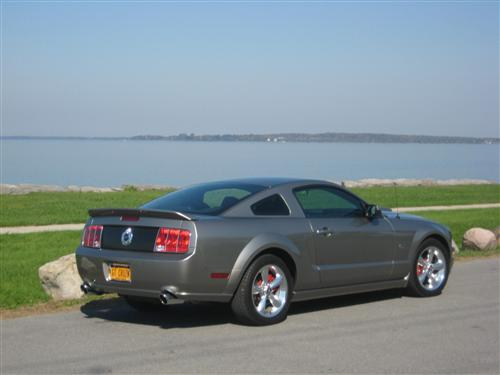 Gary Barber's 2008  Mustang S197 GT coupe