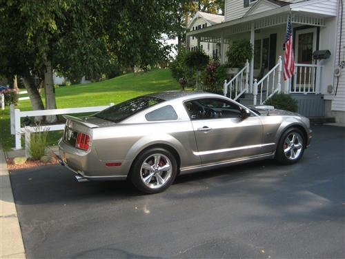 Gary Barber's 2008  Mustang  GT Coupe