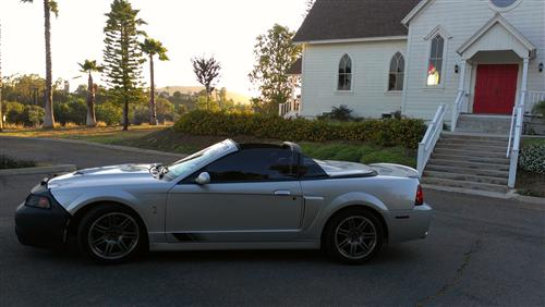 Geno Valiente's 2003 Ford SVT Cobra 10th Anniv.