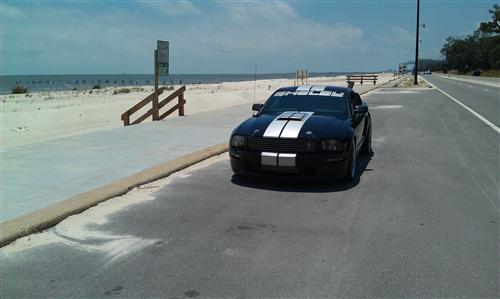 greg jenior's 2007 ford shelby gt