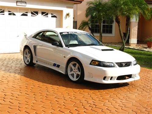 Hans Bauer's 2004 Saleen Ford Mustang