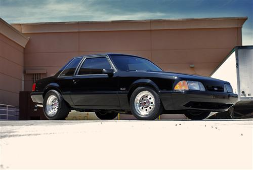 Hector  Levario's 1991 Ford Mustang