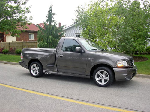 Iain Campbell's 2003 Ford F-150 Lightning