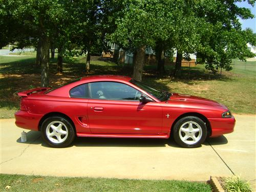 Jacob Moon's 1995 Ford Mustang