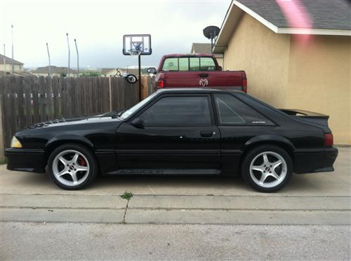 1989 Ford Mustang GT - Jacob Stockdale's 1989 Ford Mustang GT