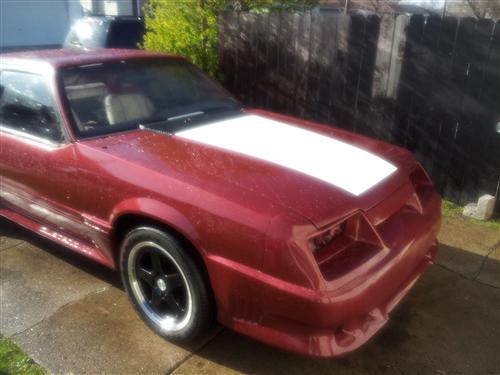 Jaime Rodriguez's 1986 ford mustang gt