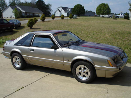 Jake Nix's 1986 Ford Mustang GT