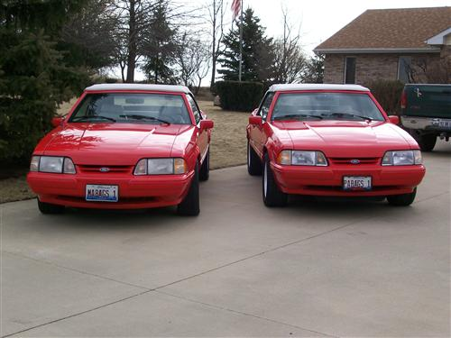 1992 Ford Mustang - James Bagnell's 1992 Ford Mustang