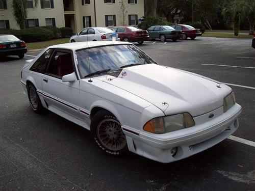 James Blanchard's 1987 Ford mustang