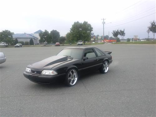 james clark's 1989 ford mustang