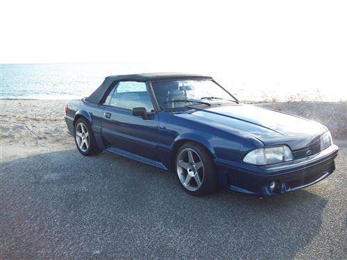 james dacosta's 1989 Ford Mustang Gt Convertible