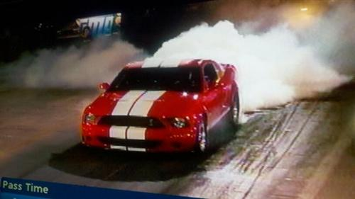 james granier's 2007 ford gt500