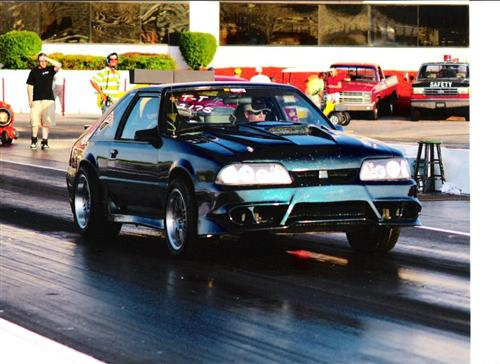 Jamie Cron's 1990 Ford Mustang