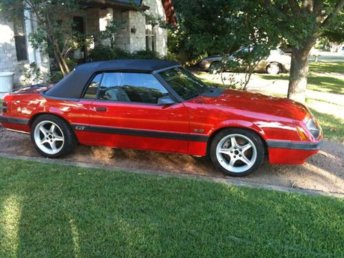 Jason  Richardson 's 1986 Ford  Mustang GT