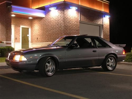 jeff poulin's 1993 ford mustang
