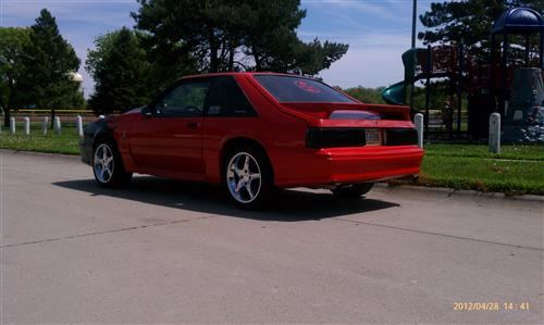 Jeremy Metcalf's 1989 Ford Mustang GT