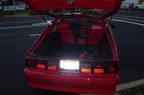 JERRY ROBERTS's 1988 FORD MUSTANG GT
