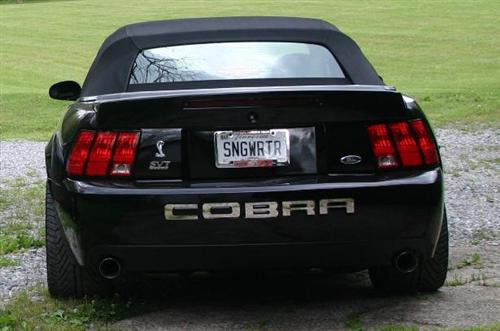 Jim Herbst's 2003 Ford SVT Mustang Cobra Convertible