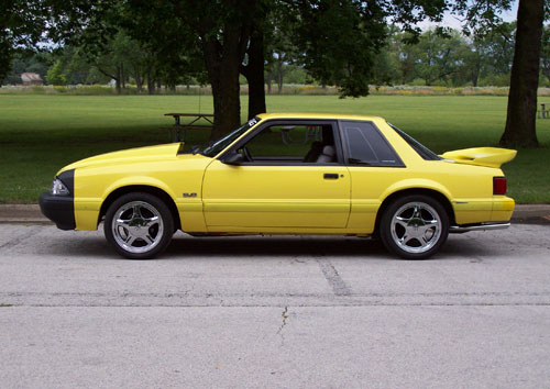 Jim Pilarczyk's 1991 Ford Mustang
