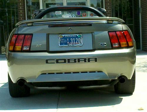 Jim Wrightsman's 2011 Ford Cobra