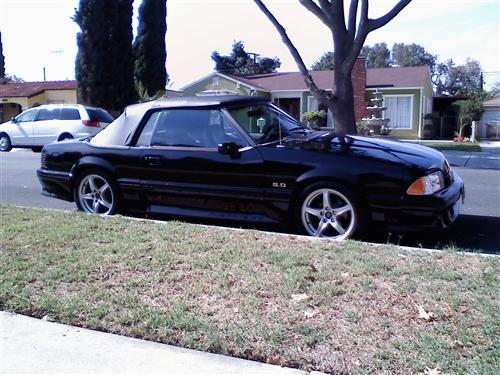 joe   brian lopez's 1990 ford mustang gt