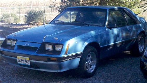 Joey Laes'  1985 Ford Mustang