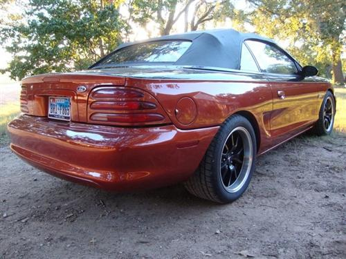 Joey Thompson's 1994 Ford Mustang GT Convertible