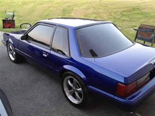 john smith's 1991/89 ford mustang lx x2