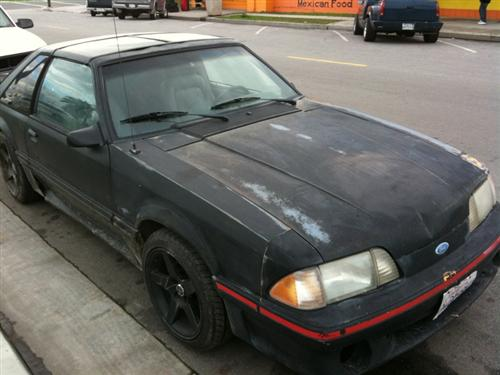Jose Razo's 1987 ford Mustang GT T-Top