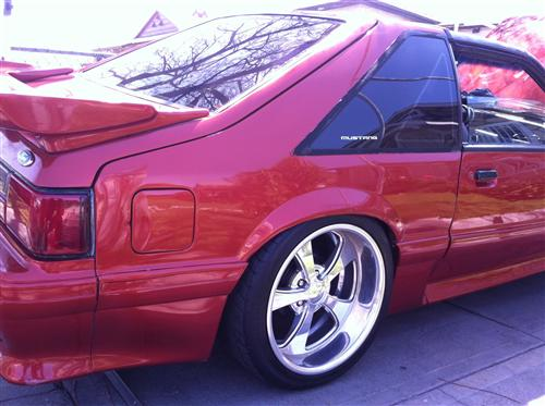 Jose Villa's 1987 Ford Mustang. T top