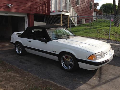 Justin White's 1989 Ford Mustang