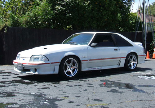 Kenny Parker's 1987 Ford Mustang GT