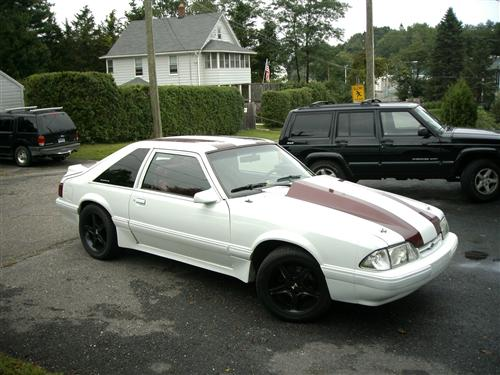 Karl Fritch's 1990 mustang lx