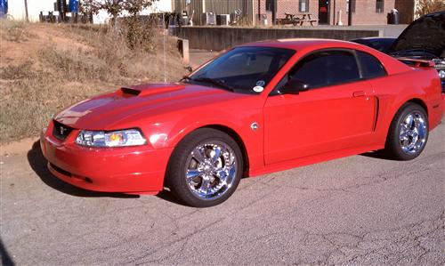 karl hankerson's 2004 ford mustang gt