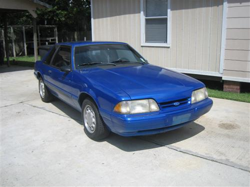 keith hilliard's 1992 ford  mustang lx