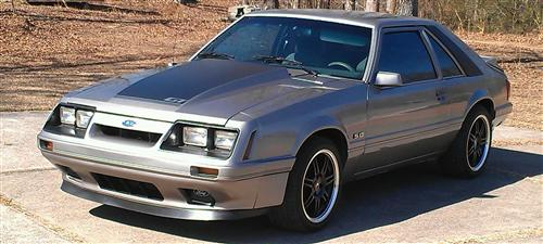 Keith Steele's 1986 Ford Mustang GT