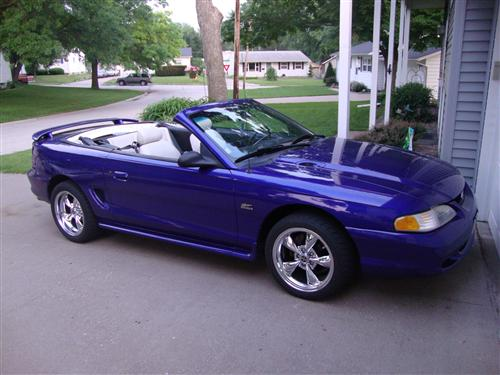 Kenlyn Crouch's 1995 Mustang GT 5.0 Convertible