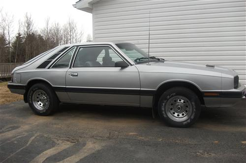 Kerry Oickle's 1985 Mercury Capri GS
