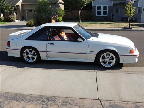 kevin james' 1987 ford mustang gt