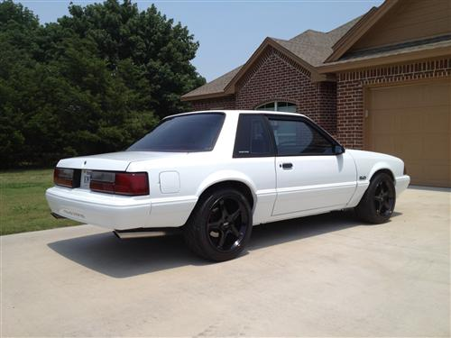 Klint Valley's 1987 Ford Mustang