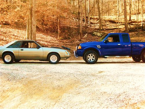 Kyle  Collett's 1984-2003 Ford  Mustang/Ranger