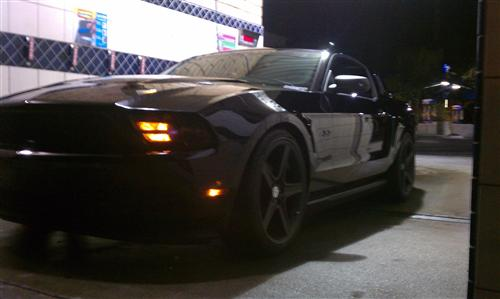 Larry Moore's 2012  Ford  Mustang V6