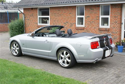 Lars Lund's 2005 Ford Mustang 4.6 GT Cab.