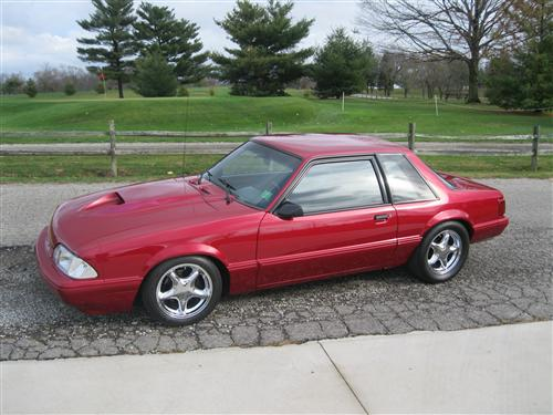 Lee  York's 1993  Ford  Mustang LX Coupe