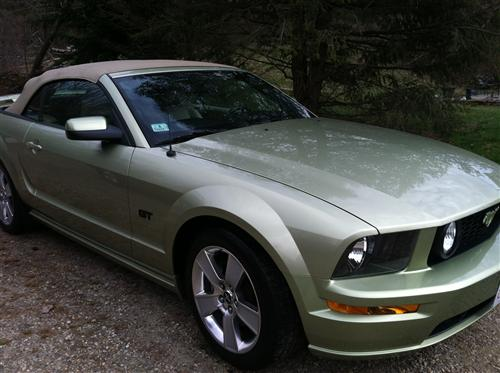 LOUIS C BASQUIAT JR's 2006 FORD MUSTANG GT CONVERTIBLE