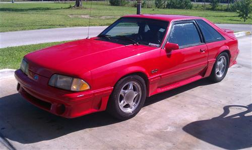 Marc Acton's 1992 Ford Mustang GT